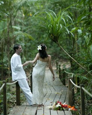 A wedding at the Daintree EcoLodge.
