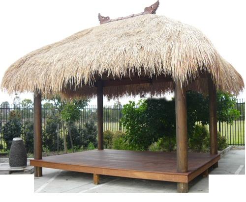 Bali Hut with deck $6500