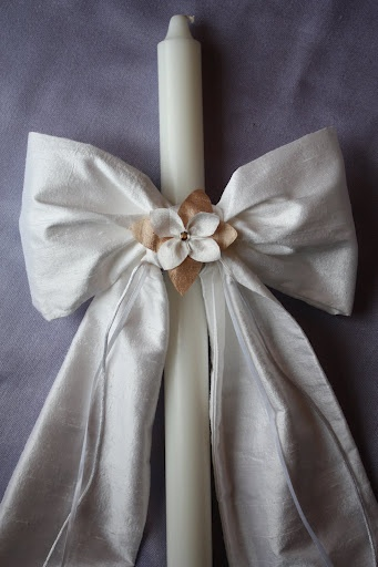 Antique fabric bow, nice texture