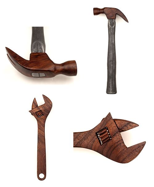 Michael James Moran of Moran Woodworked in Charleston, South Carolina has been practicing his craft of woodworking for over a decade. His love of local materials and fascination with wood grain make his homage to the hand tool series incredibly impressive...and important.