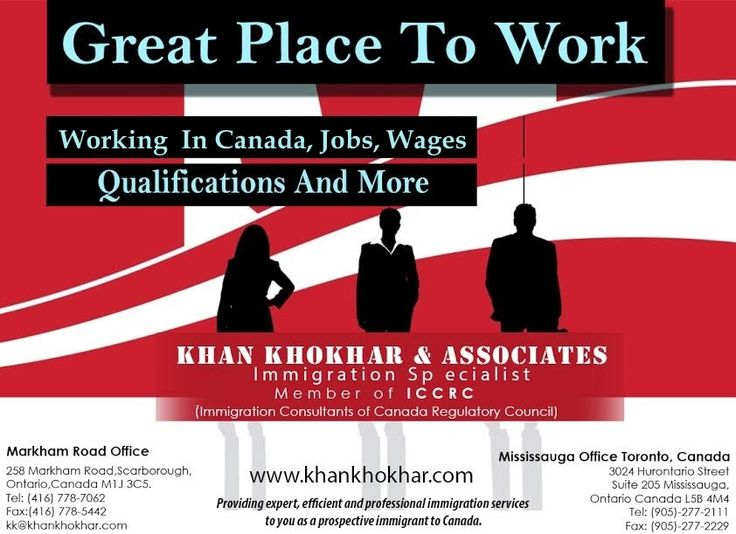 Khan Khokhar & Associates Have Provided A Guiding Light To Many Thousands Of Persons Wishing To Immigrate To Canada. There Are A Number Of Ways To Start Your Canadian Immigration Process, The Easiest & Best Way To Ensure That Your Papers & Documents Are Filled Properly To Increase Your Chances To Immigrate To Canada, Consult With Us Today To Make Your Immigration Process Easy. Contact Now For More Info: Call: 416-277-8011 Email: kk@khankhokhar.com Web: http://khankhokhar.com/
