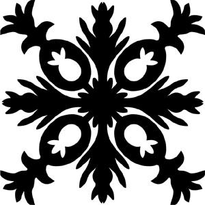 Hawaiian Quilt Tile 62 : HaoleKid