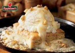 If you love Applebees desserts but you can't go out every night, try these copycat recipes of their Maple Butter Blondies or Peanut Butter Cup Cheesecake