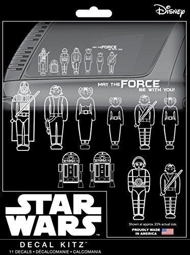 Chroma 45020 Star Wars Family Decal Kit, 11 Piece //Price: $5.73 & FREE Shipping //     #starwarscollection