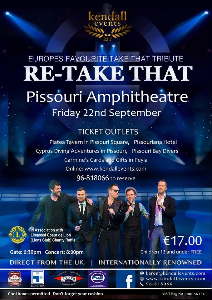 ★ September events at Pissouri amphitheatre ★ #pissourievent #tributeactconcert #pissouriamphitheatre #amphitheatreshow #pissouri #kendallevents #morrellievents #retakethat #rodstewart #ub40 https://plus.google.com/+PissouribayCyp/posts/H5ZW2sieKyF