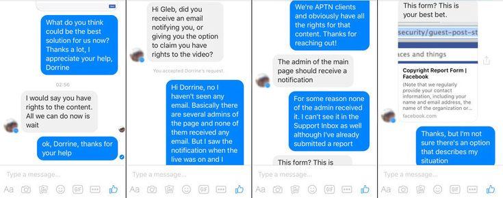 Pour justifier cette interdiction, Facebook invoque une infraction des droits de diffusion par RT lors de la dernière conférence de presse de Barack Obama. La chaîne les avait pourtant légalement acquis. Une erreur de l'algorithme serait en cause.