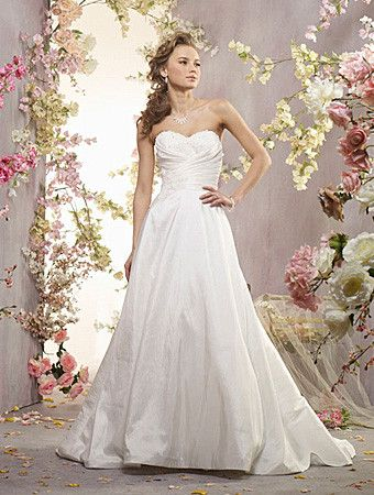 Alfred Angelo 2409 Wedding Dress, White Size 26W, Sale $509