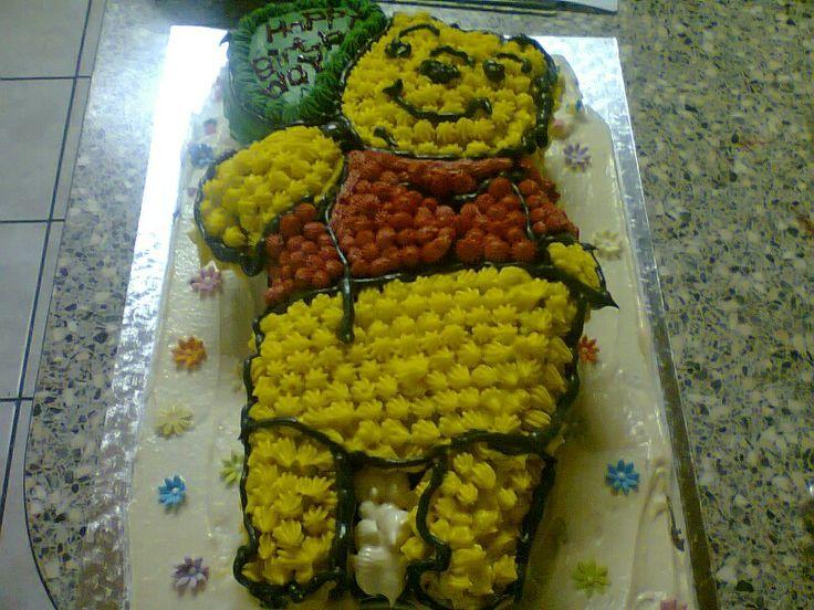 Winny the pooh cake