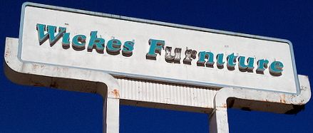 Wicks Furniture Lost stores in Chicago.