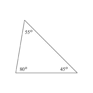 Scalene Triangle is one of the special types of triangles. Scalene Triangle is a triangle with three unequal sides and three unequal angles.