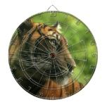 Cute tiger dart board designs.