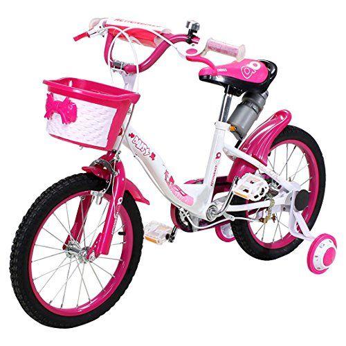 Actionbikes-Kinderfahrrad-Daisy-ab-3-Jahren-16-Zoll-Pink-Kinderrad-Kinder-Mdchen-Jungen-Fahrrad