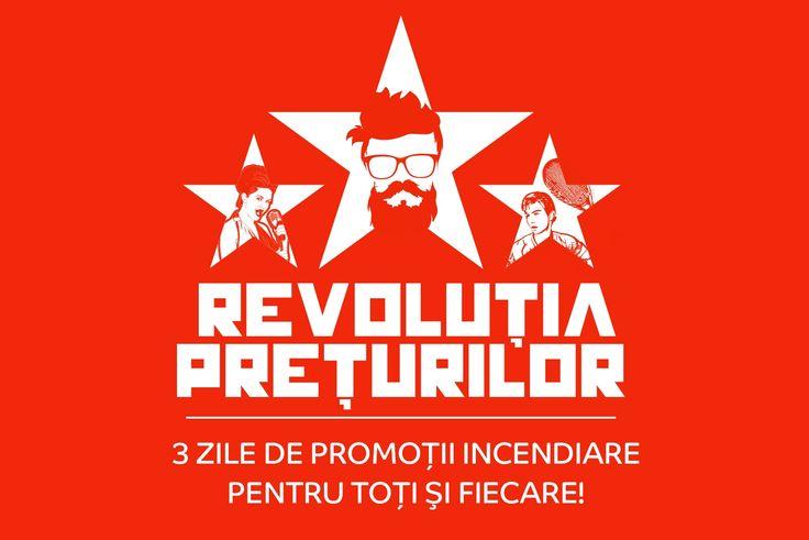 Intre 22-24 Septembrie avem din partea celor de la eMAG o noua editia de Revolutia Preturilor. Detalii despre editia trecuta gasiti aici. Startul se da maine dimineata cu incepere probabil de pe la ora 7:00.