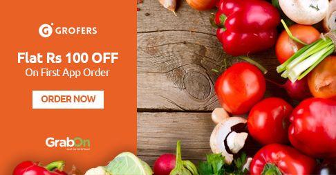 Special Sankranthi Offer @ #Grofers. Get Flat Rs 100 Off On First Grofers App Order
