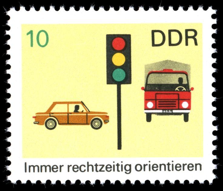 Briefmarken 1969 der Deutschen Post der DDR Sicherheit