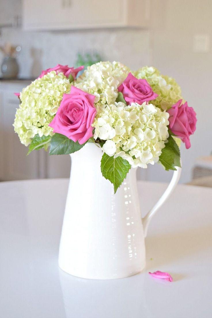 Best 25 pink hydrangea centerpieces ideas on pinterest - Care potted hydrangea ...