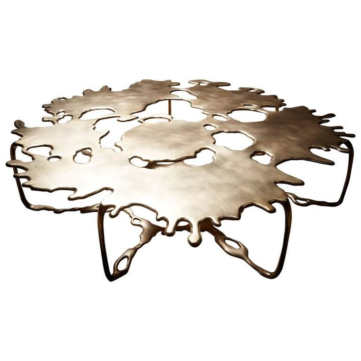 Bronze Magnum Opus Puddle Coffee Table by Stefan Bishop 1