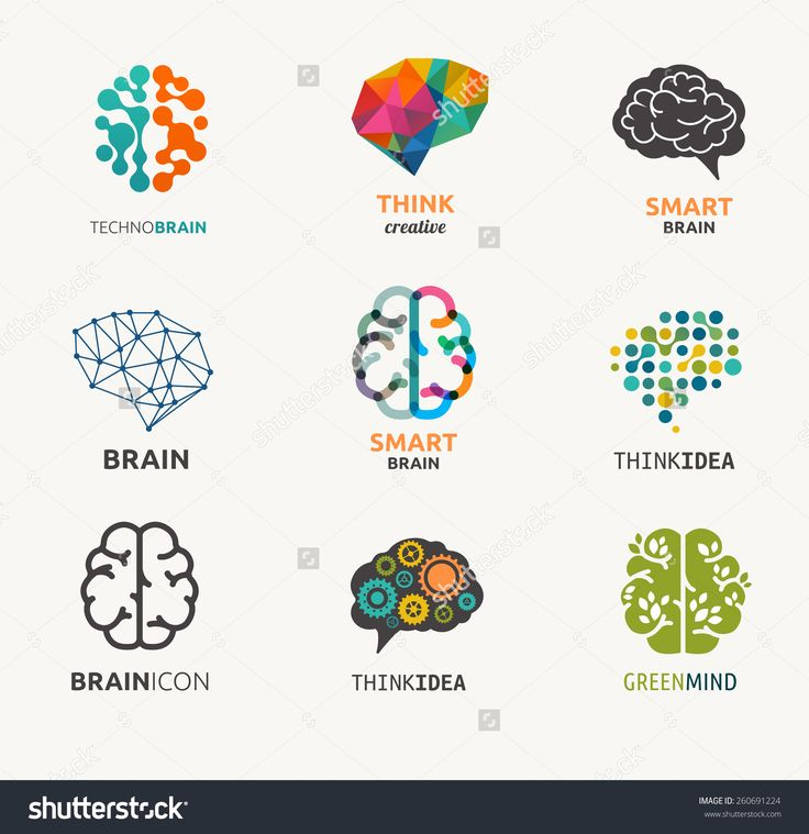 Collection Of Brain, Creation And Idea Icons And Elements. Vector Illustrations - 260691224 : Shutterstock