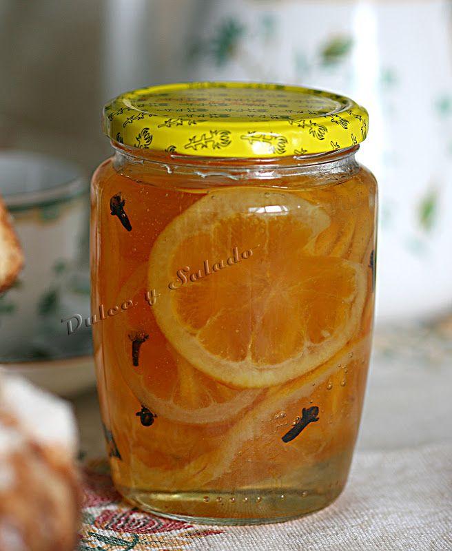 CONSERVAS: Naranjas y Limones Confitados