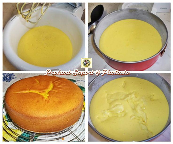 Torta alla crema di limone, ricetta  Blog Profumi Sapori & Fantasia