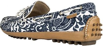 cole haan: Grant Canoe Camp Moc [blazer blue batik print], shutup..look at the mad beauty, and in my size!