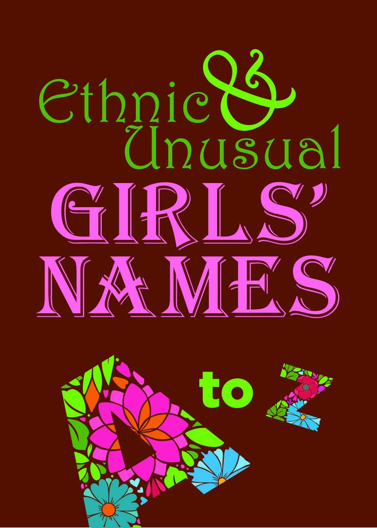 Ethnic and Unusual Girls' Names — Lake Love