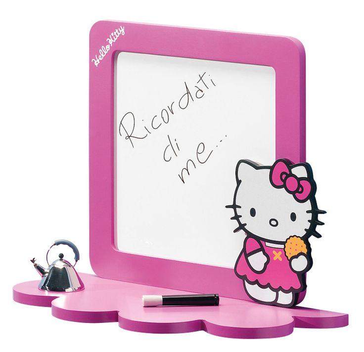 Lavagna con mensola Hello Kitty