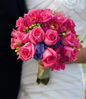 fuschia wedding flowers 17 best images about purple and fuschia wedding ideas on 4434