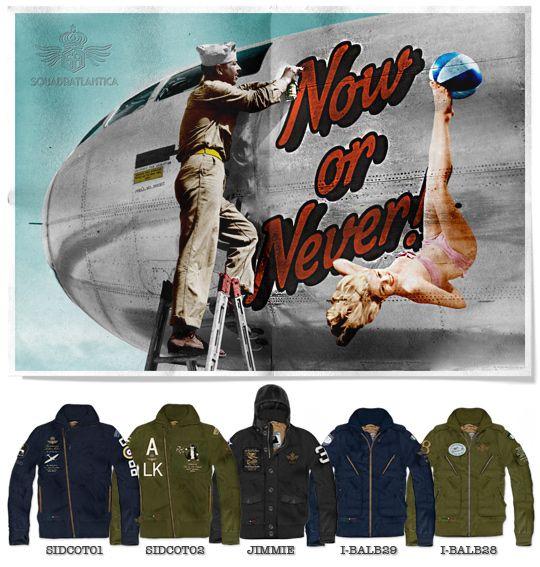 28/8/2012 Now or Never!  http://blog.squadratlantica.it/prevendita-felpe-ultimi-giorni-perche-conviene-acquistare-ora/