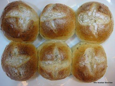 Tunjitas, pancitos dulces venezolanos