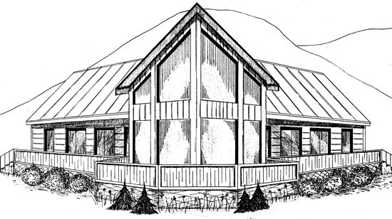 118 best images about cabin prow fronts on pinterest for Prow front house plans