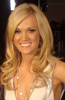 Carrie is an awesome example of someone who stays true to their beliefs and doesnt worry about what people say. She loves God and isn't afraid to show it!! Thats why I love her! THanks Carrie!