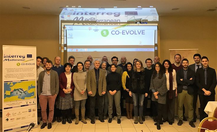 The kick-off meeting of the INTERREG MED CO-EVOLVE project – led by the Region of East Macedonia and Thrace – took place in Komotini (Greece) on 12-13 January.  The partners involved in CO-EVOLVE (Promoting the co-evolution of human activities and natural systems