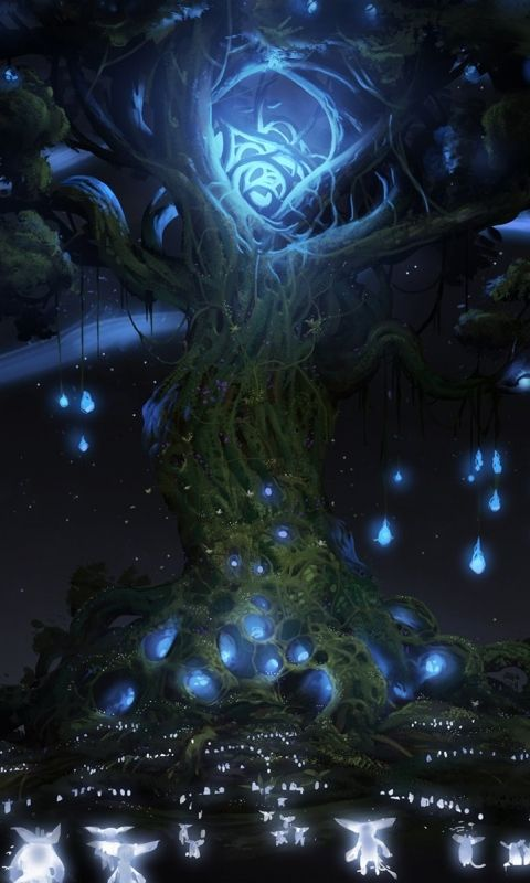 Video Game/Ori And The Blind Forest (480x800) Wallpaper ID