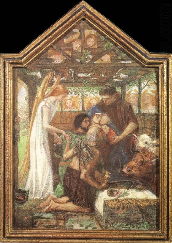 The Seed of David, Dante Gabriel Rossetti