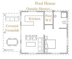 LIKE THIS POOL HOUSE PLAN