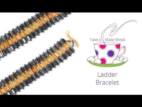 Ladder Bracelet   Take a Make Break   Beads Direct