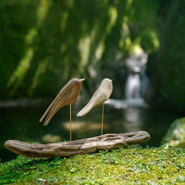 流木の鳥-256  2017    金澤 尚