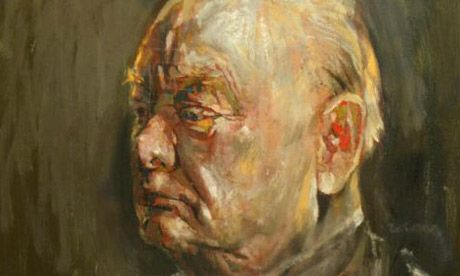 Study for a portrait of Churchill, by Graham Sutherland. Photograph: Martin Argles