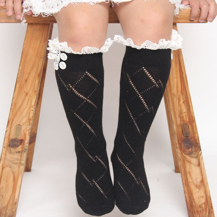 Негритянки загрузки рюшами длинные носки , наиболее, Молодежные девушки подарков аксессуаров манжеты, Девушки кружева колен-высокие носки
