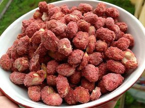 TudoReceitas.com - Receita de amendoim doce super fácil de preparar! #amendoim #sweetpeanut #amendoimdoce #tudoreceitas #comida #receita #festasjuninas