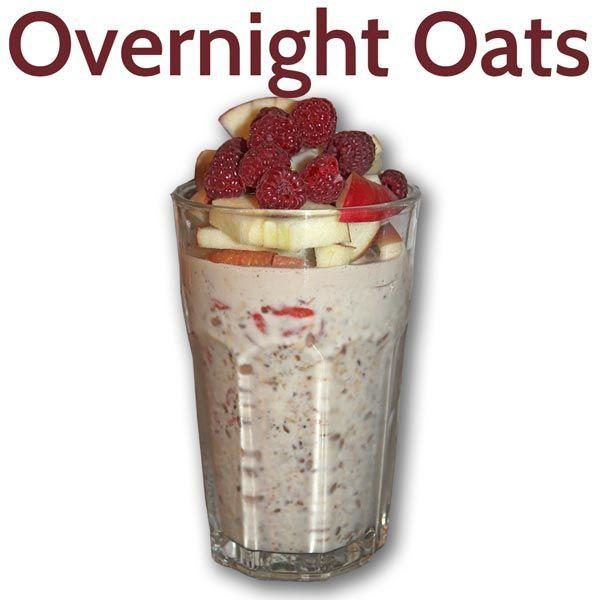 Overnight Oates - Gesundes Power-Frühstück - fitkurs.de