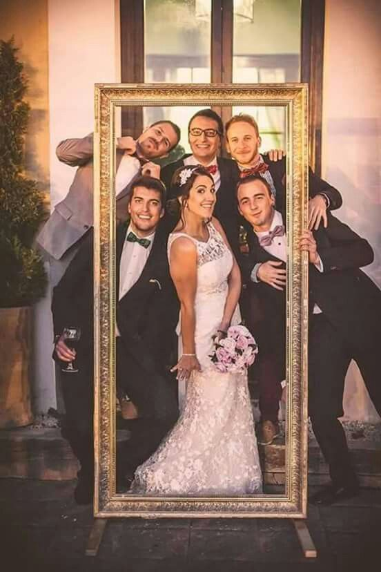 Cute idea at a wedding