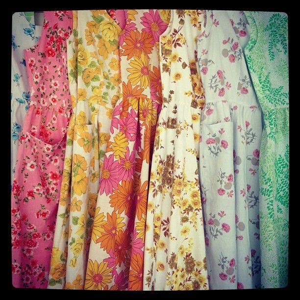 naughty shorts!: vintage dresses