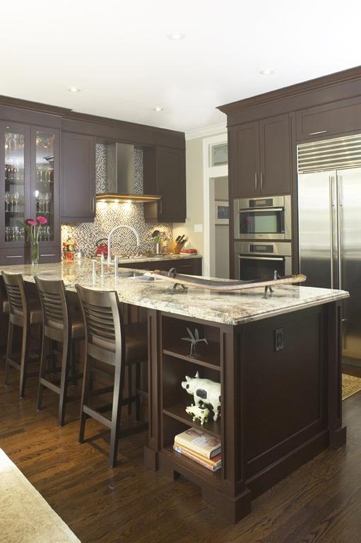 Contempory Kitchen via www.cmidesign.ca