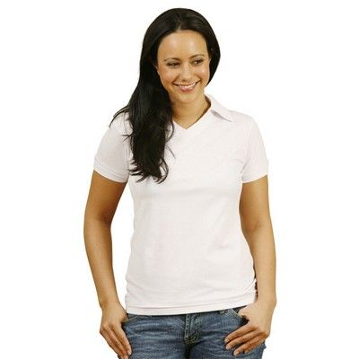Ladies Cotton Back Truedry Polo Shirt Min 25 - 240gsm poly/cotton(65%Polyester/ 35%Cotton) pique fabric. #PoloShirts  #PromotionalProducts  #PromotionalPoloShirt  #CooldryPoloShirts  #LadiesPoloShirt