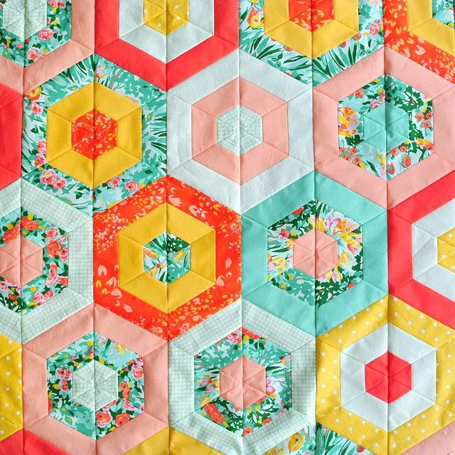 suzyquilts's photo: SPRING QUILT TOP!