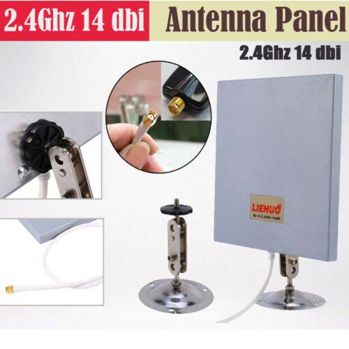 13 95 Sma 14dbi 2 4ghz High Gain Wifi Extender Directional Panel Antenna Long Range Wifi Extender Wireless Router Wifi Signal