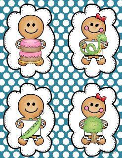 free gingerbread rhymes game