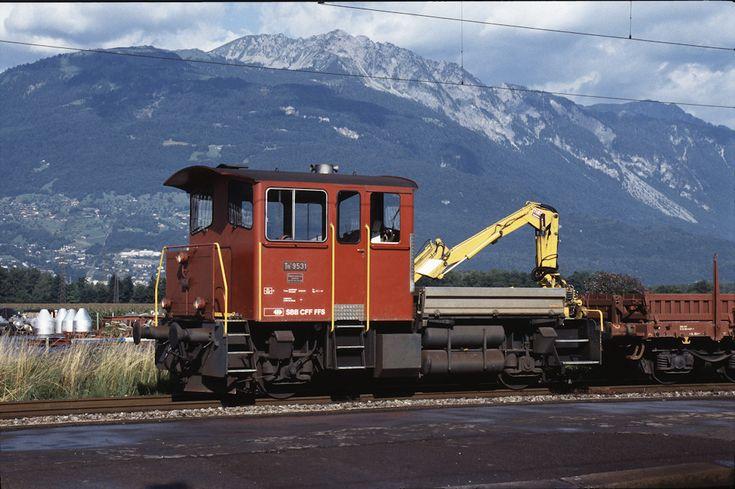 SBB Tm III 9531 (16.07.1993, Bex)